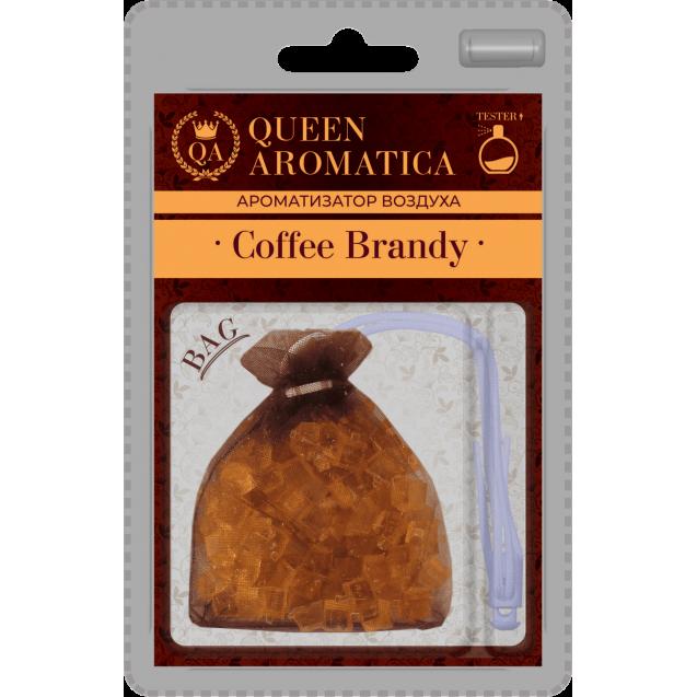 Ароматизатор Queen Aromatica мешочек Coffee Brandy QA-СB-01