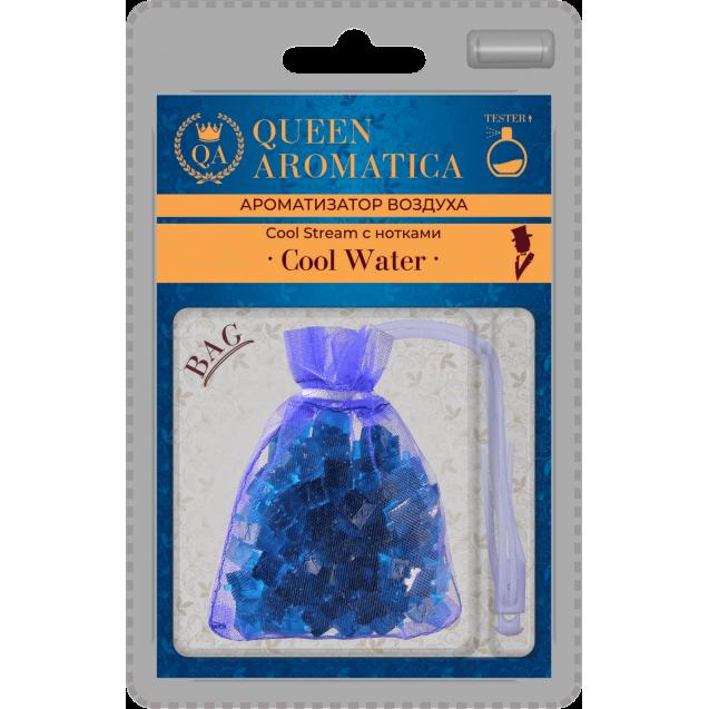 Ароматизатор Queen Aromatica мешочек Cool Stream (с нотками Cool Water) QA-B-03