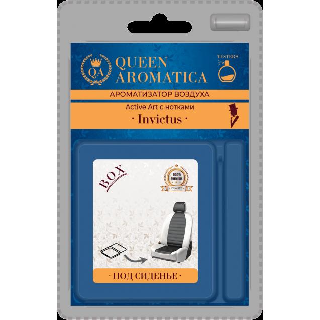 Ароматизатор Queen Aromatica под сиденье Active Art (с нотками Invictus) QA-X-13