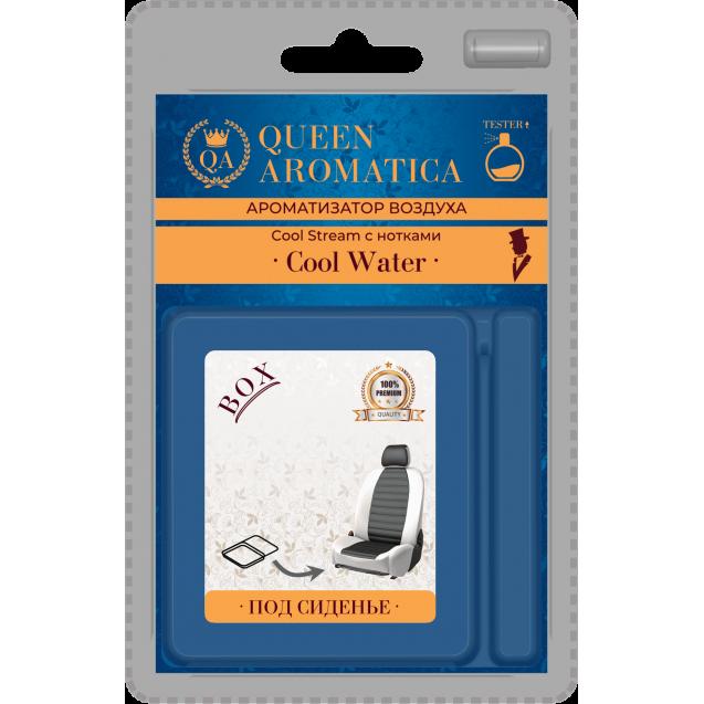Ароматизатор Queen Aromatica под сиденье Cool Stream (с нотками Cool Water) QA-X-03