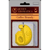 Ароматизатор Queen Aromatica наногелевый Coffee Brandy QA-C-01