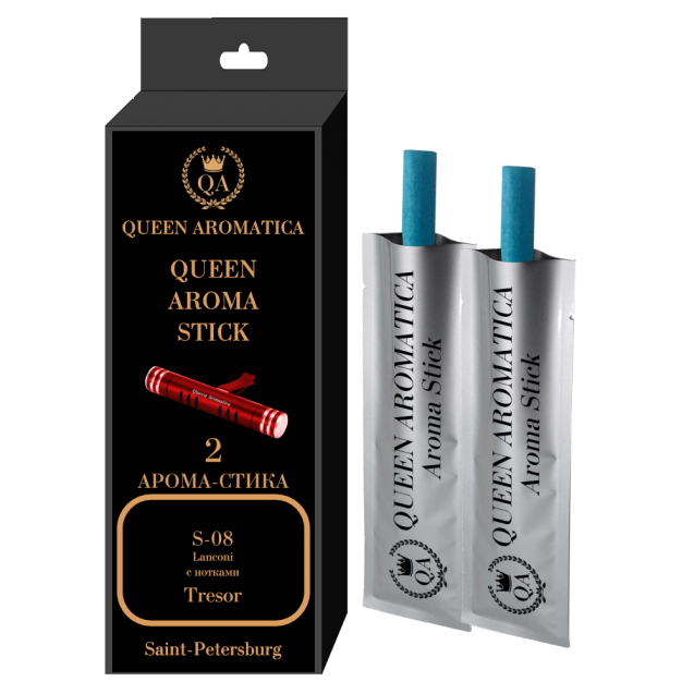 Сменные арома-стики Queen Aromatica Lanconi (с нотками Tresor) S-08