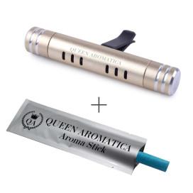 Многоразовый ароматизатор QA Deflector D-4 (золото) Queen Aromatica