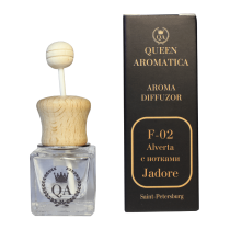 Автопарфюм Queen Aromatica Diffuzor Alverta (с нотками Jadore) F-02