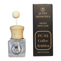 Автопарфюм Queen Aromatica Diffuzor Coffee Arabica FC-03