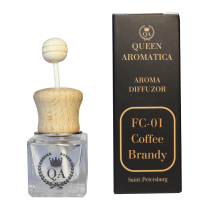 Автопарфюм Queen Aromatica Diffuzor Coffee Brandy FC-01