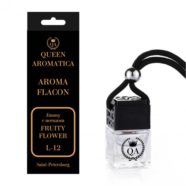 Ароматизатор Queen Aromatica Flacon JIMMY (с нотками Fruity Flower) L-12