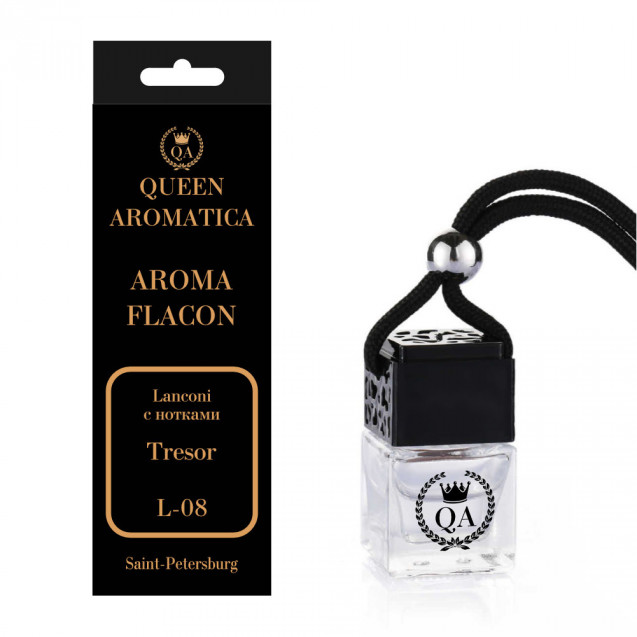 Ароматизатор Queen Aromatica Flacon Lanconi (с нотками Tresor) L-08